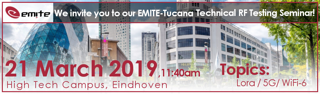 EMITE announces its participation in the Next Tucana Technical RF 5G